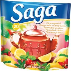 Saga tea citrus-menta 20db-os